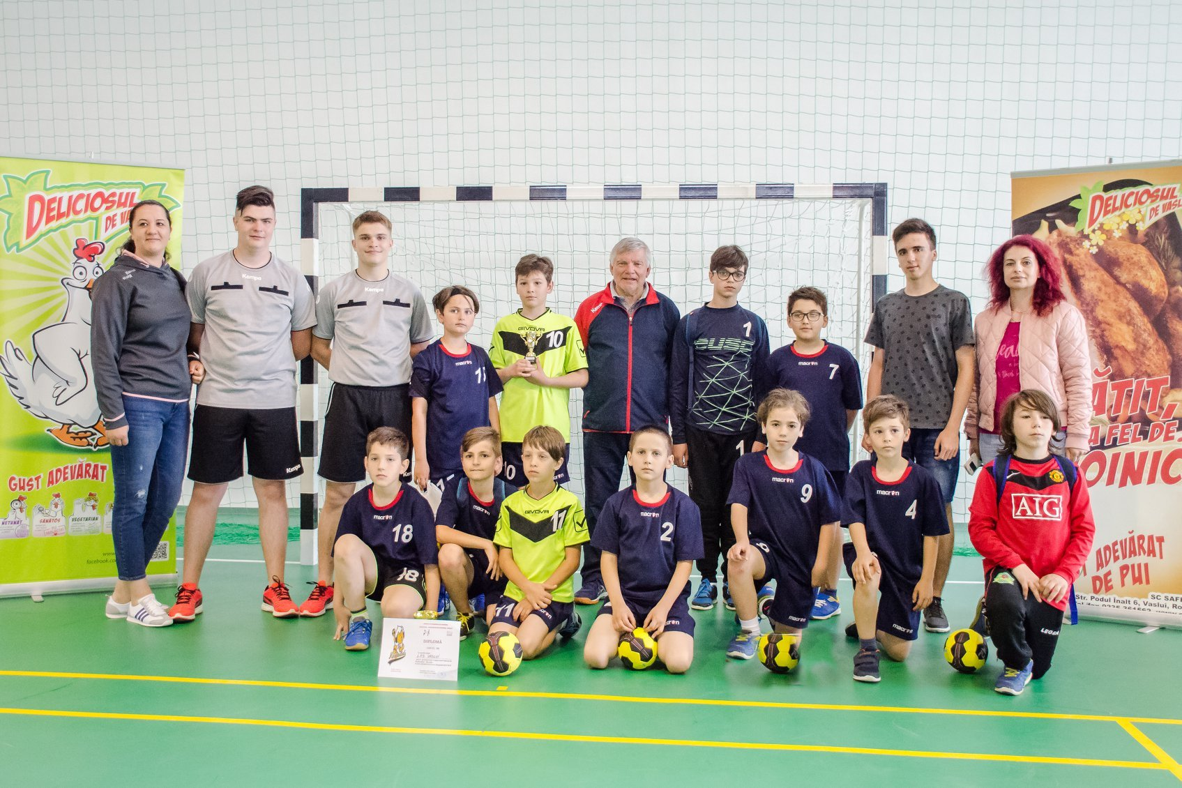 Safir Company Group supports the LPS Vaslui handball team