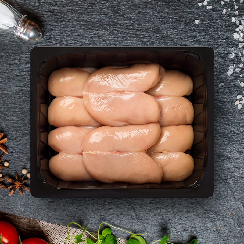 Boneless chicken breast without skin