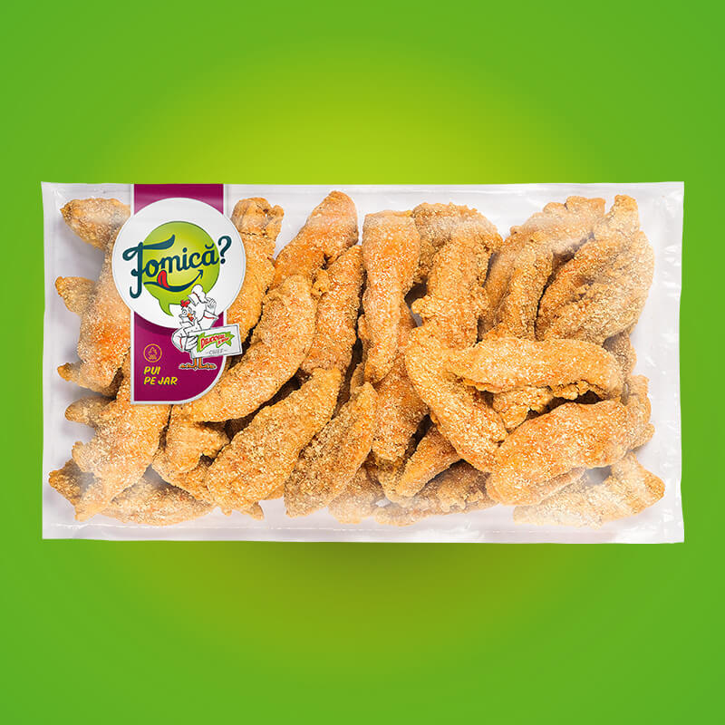 Chicken breast fingers frozen